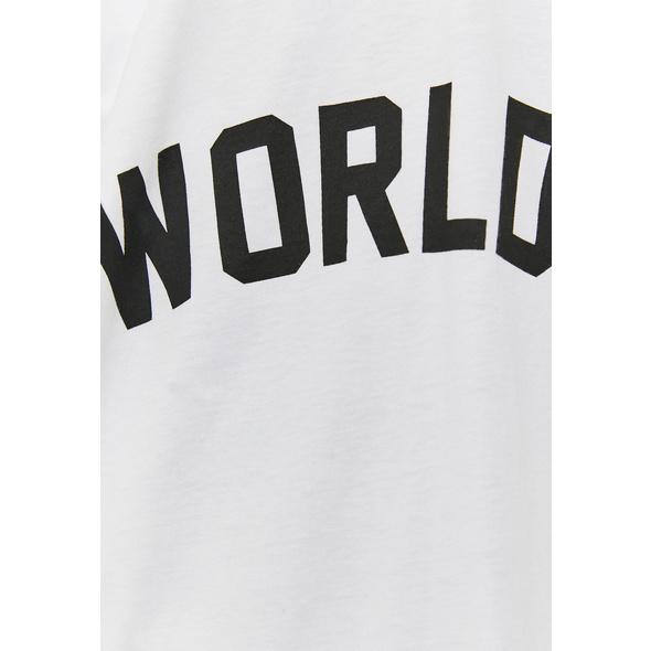 Bedrucktes Polo T-Shirt