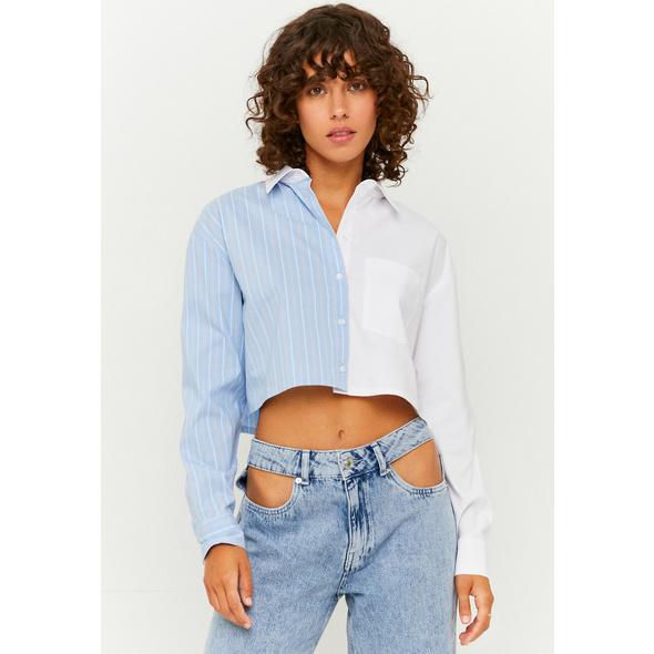 Colorblock Button Down Hemd