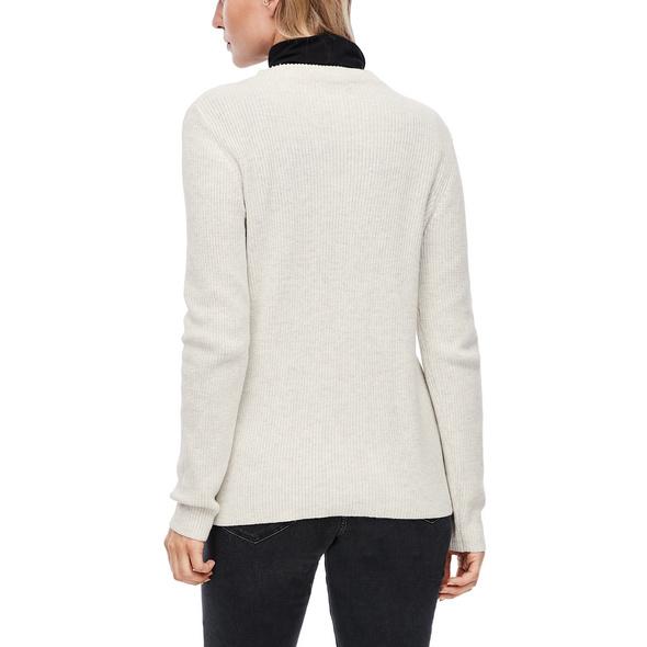 Pullover aus Strukturstrick - Strick-Pullover