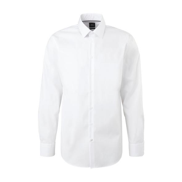 Slim: Hemd mit Kentkragen - Hemd