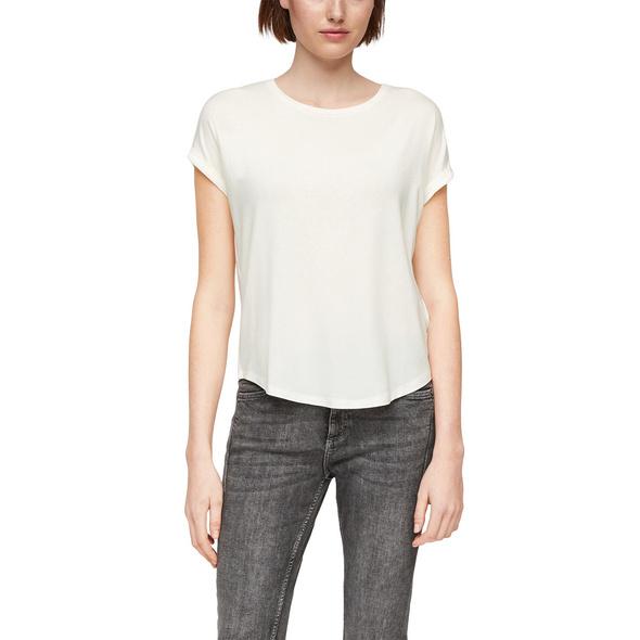 Jerseyshirt aus Lyocell - T-Shirt