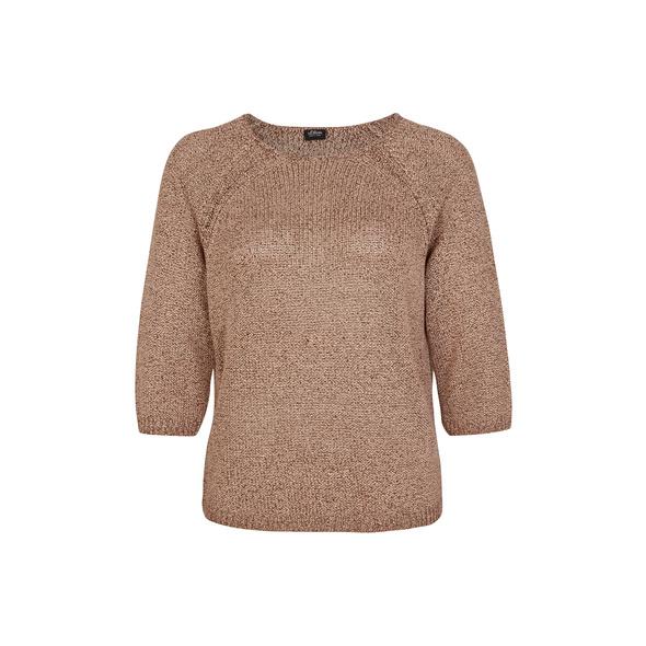 Pullover aus Strukturstrick - Feinstrickpullover