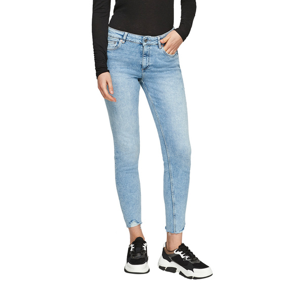 Skinny Fit: Skinny ankle leg-Jeans - Stretchjeans