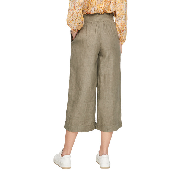 Regular Fit: Culotte aus Leinen - Culotte