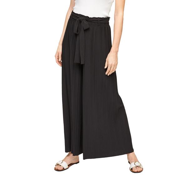 Regular Fit: Plissee-Hose mit Gürtel - Hose