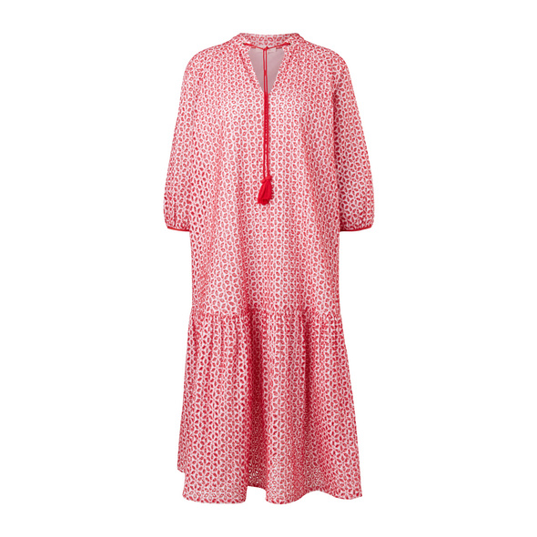 Tunikakleid aus Baumwollspitze - Boho-Kleid