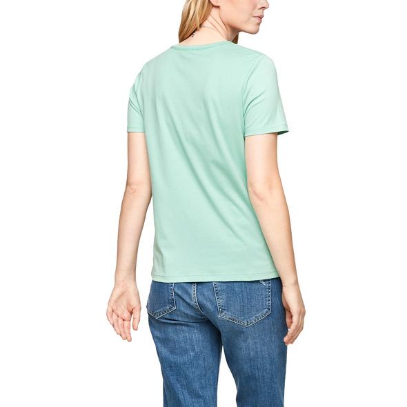 Jerseyshirt mit V-Ausschnitt - T-Shirt