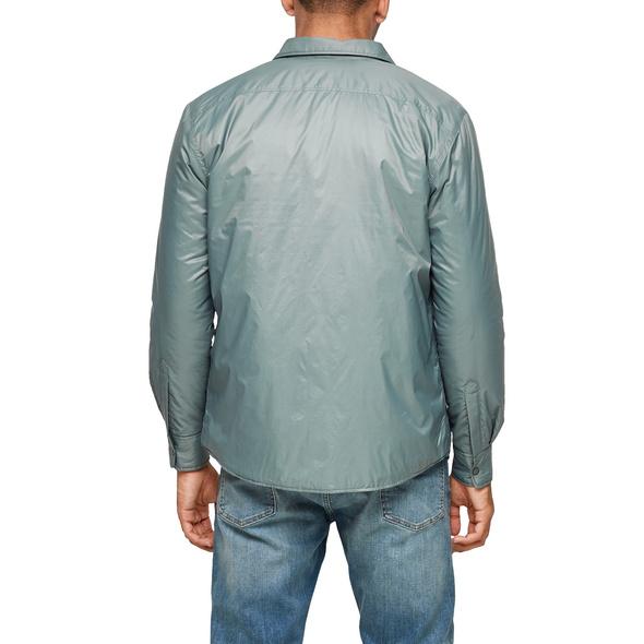 Leicht gefüttertes Overshirt - Hemdjacke