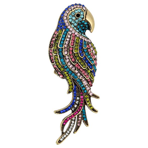 Brosche - Exotic Parrot
