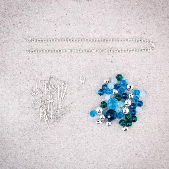 Bastelset - Blue Lagoon