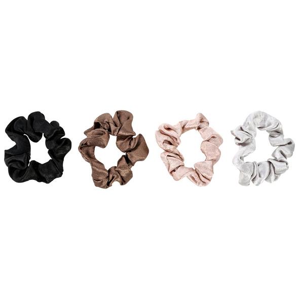 Haargummi-Set - Silky Four