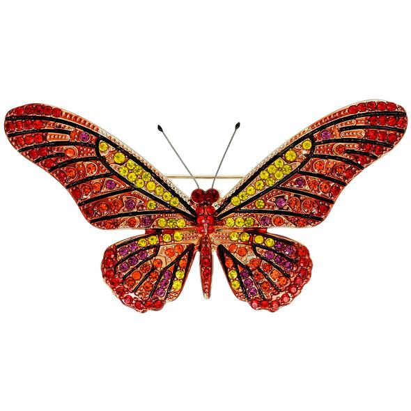 Brosche - Sunny Butterfly