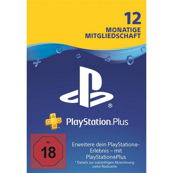 PlayStation® PLUS Mitgliedschaft DE 12 Monate