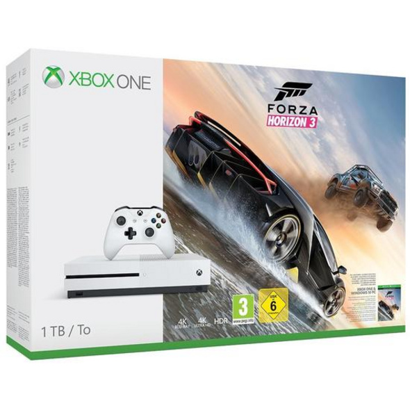 Xbox One S Konsole 1TB inkl. Forza Horizon 3