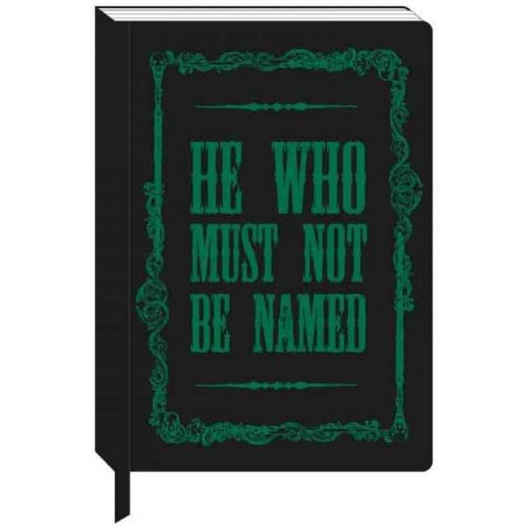 Harry Potter - Notizbuch A5 Voldemort