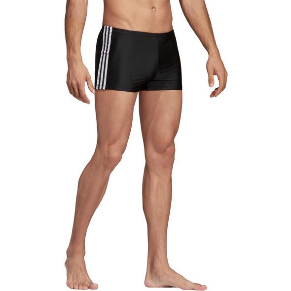adidas Fit 3-Stripes Kastenbadehose Herren
