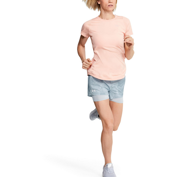 Under Armour Run SpeedPocket 2in1 Weightless Laufshorts Damen