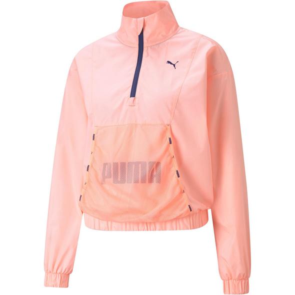 PUMA Train Logo Funktionssweatshirt Damen