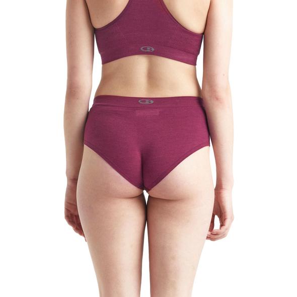 Icebreaker Cool-Lite Anatomica Seamless Panty Damen