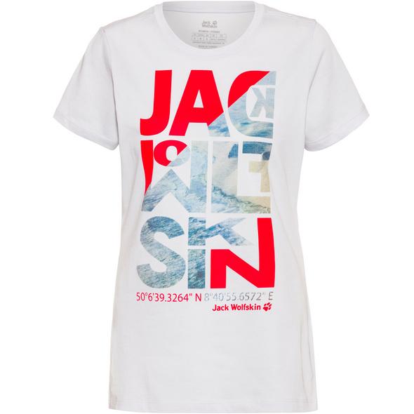 Jack Wolfskin NAVIGATION T-Shirt Damen