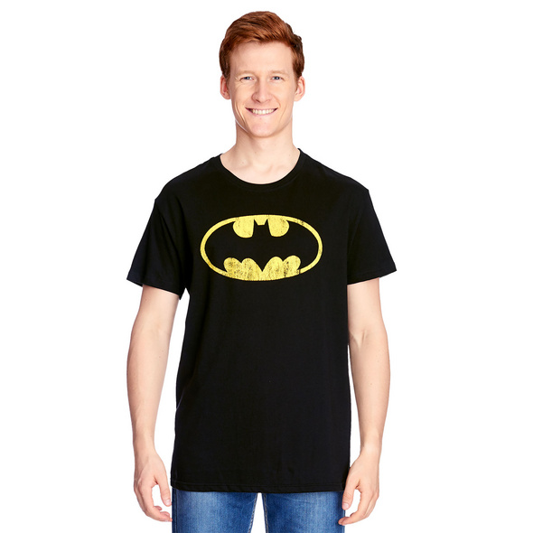 Batman - Distressed Shield T-Shirt