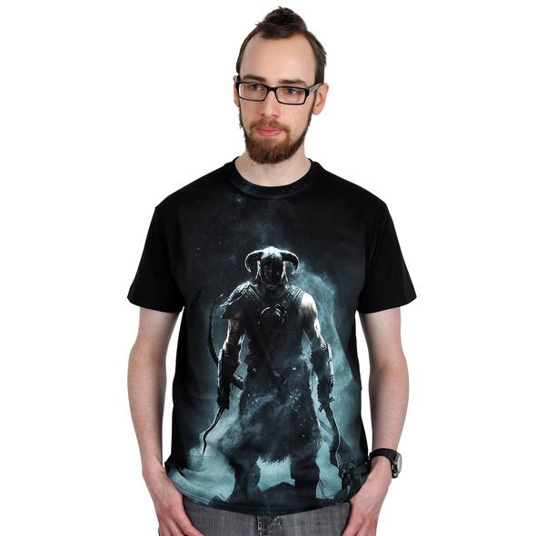 Skyrim - Dragonborn T-Shirt schwarz