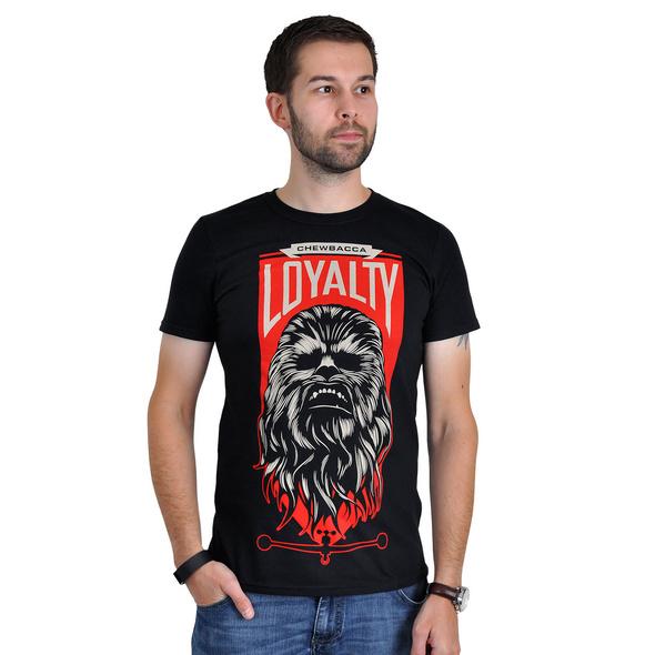 Star Wars - Chewbacca Loyalty T-Shirt schwarz