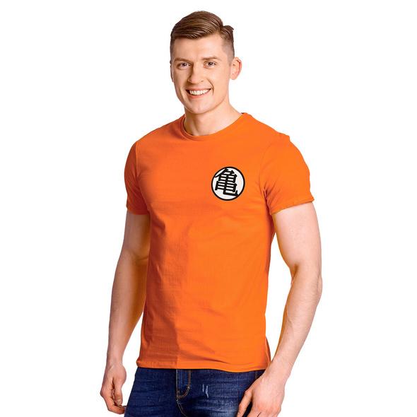 Dragon Ball - Kaio Distressed T-Shirt orange