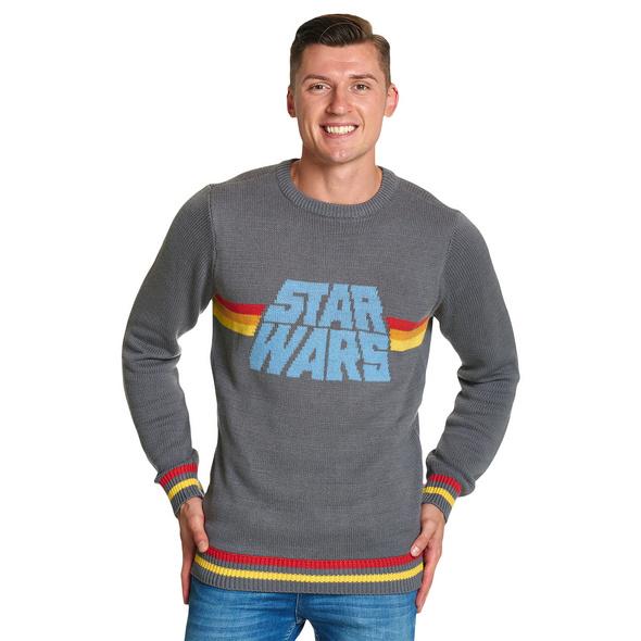Star Wars - Vintage Strick Pullover Herren