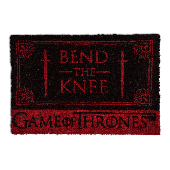 Game of Thrones - Targaryen Bend the Knee Fußmatte