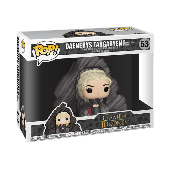 Game of Thrones - Daenerys auf Drachenstein Thron Funko Pop Figur