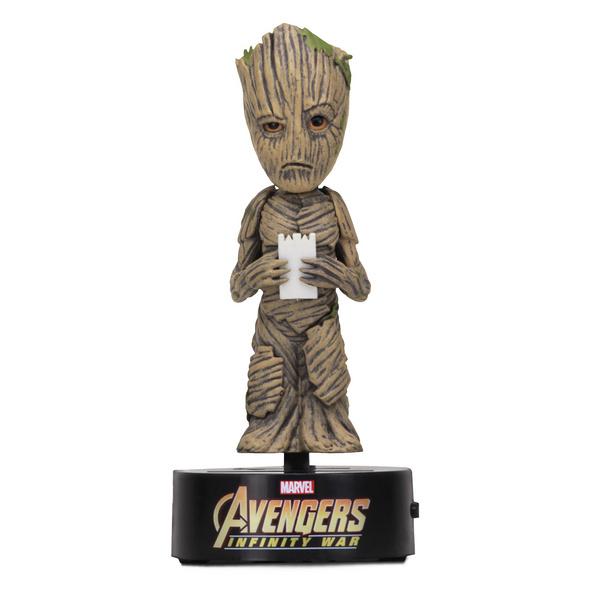 Avengers - Groot Body Knockers Solar Wackelfigur
