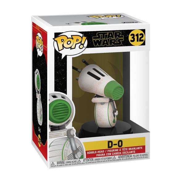 Star Wars - D-0 Funko Pop Wackelkopf-Figur