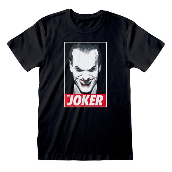 Batman - The Joker Comic T-Shirt schwarz