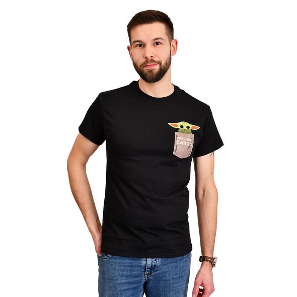 The Child Precious Cargo T-Shirt schwarz - Star Wars The Mandalorian