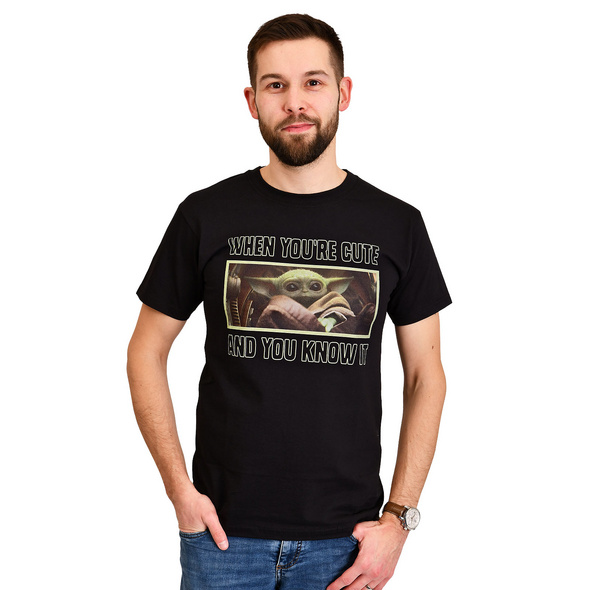 The Child Cute and You Know It T-Shirt - Star Wars The Mandalorian