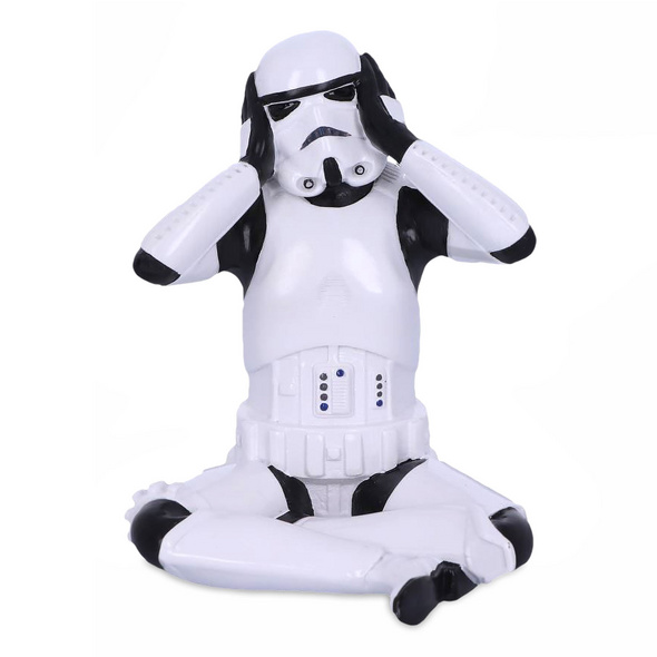 Original Stormtrooper Dont Hear Figur 10cm