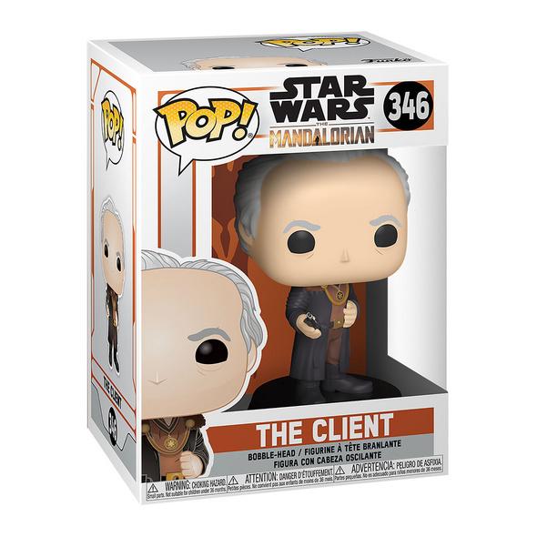 The Client Funko Pop Wackelkopf-Figur - Star Wars The Mandalorian