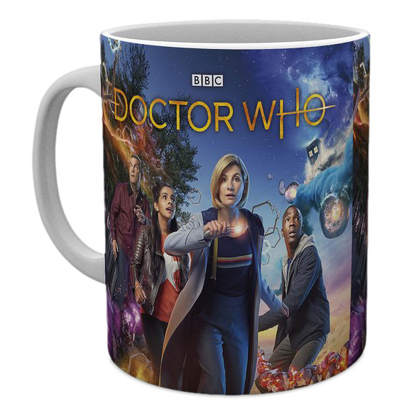 Doctor Who - Season 12 Characters Tasse