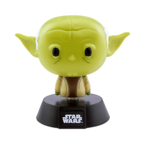 Star Wars - Yoda Icons 3D Tischlampe