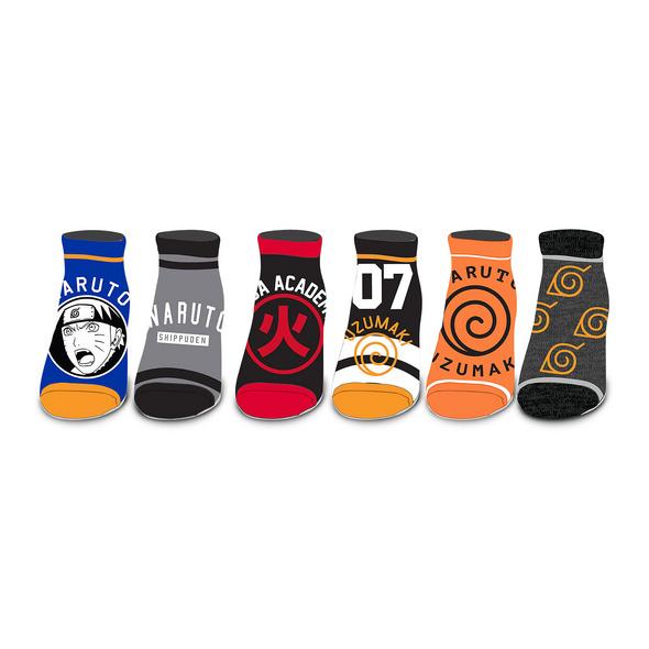 Naruto - Symbols Sneaker Socken 6er Set