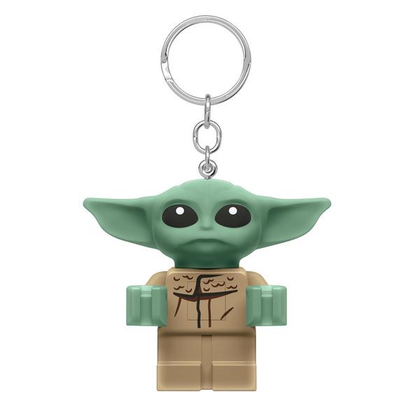 Grogu LEGO Schlüsselanhänger mit Licht - Star Wars The Mandalorian