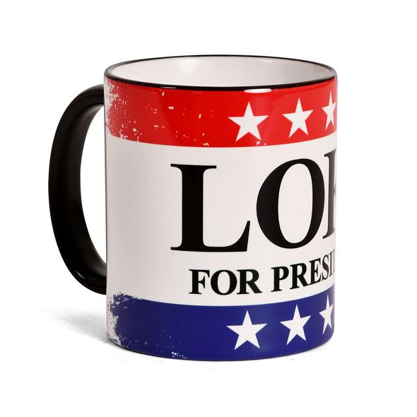 For President Tasse für Loki Fans
