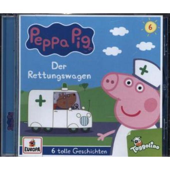 Peppa Pig Hörspiel 06. Der Rettungswagen  und 5 we