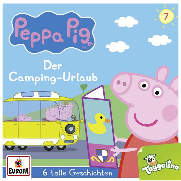 Peppa Pig Hörspiel 07. Der Camping-Urlaub  und 5 w