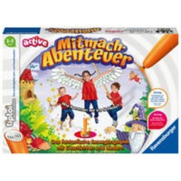 Ravensburger tiptoi ACTIVE Spiel 00076, Mitmach-Ab