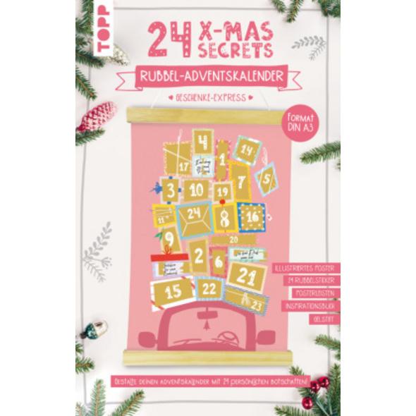 24 X-MAS SECRETS - Rubbel-Adventskalender - Gesche