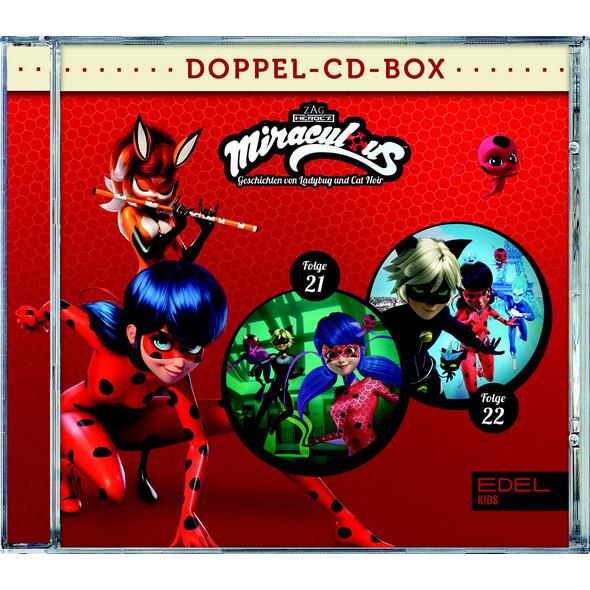 Miraculous-Hörspiel-Doppel-Box-Folgen 21 22