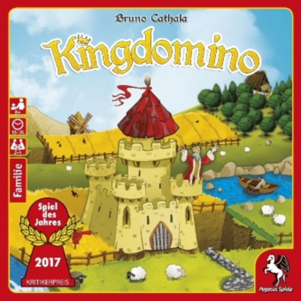 Kingdomino, Revised Edition    Spiel des Jahres 20