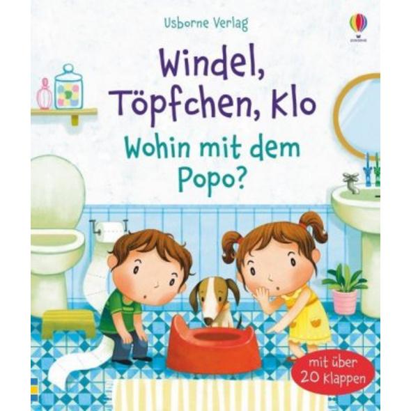 Windel, Töpfchen, Klo - Wohin mit dem Popo?